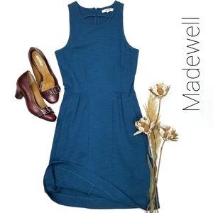 💥 Madewell 💥 Blue Sleeveless Fit  Flare Dress xs